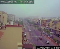 """Screenshot Livecam Torrox-Costa """"Ortsmitte"""""""